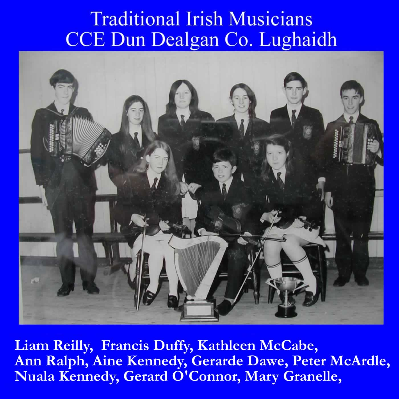 Traditional Irish Musicians 1969